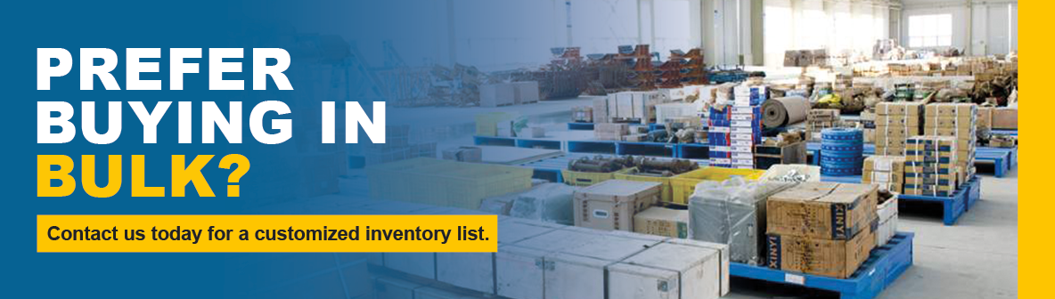 Bulk Purchase Used Industrial Parts